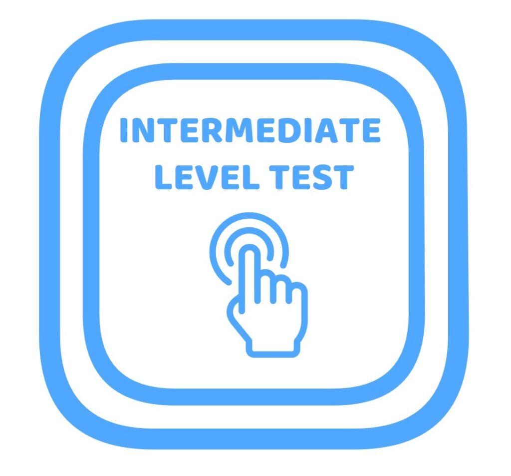 Test de nivel de ingles intermedio
