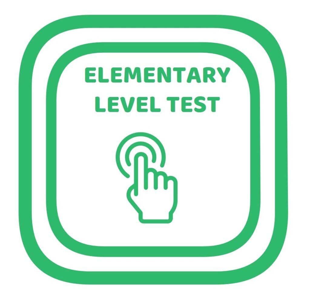 Test de nivel inglés para principantes