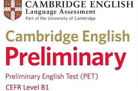 P.E.T (Preliminary English Test)