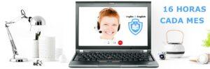 bono de 16hrs de clases de Ingles 2 English online